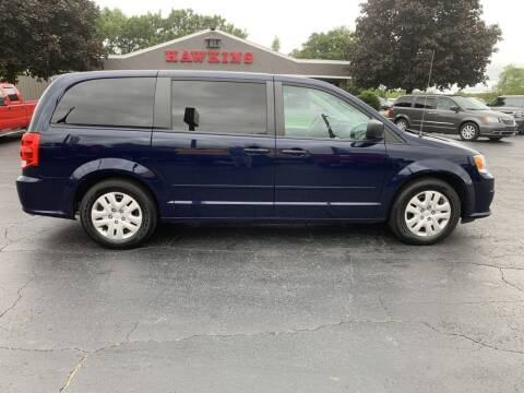 2016 Dodge Grand Caravan for sale at Hawkins Motors Sales in Hillsdale MI