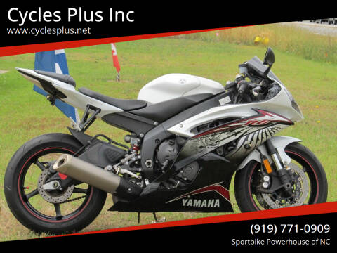 2012 Yamaha YZF-R6 for sale at Cycles Plus Inc in Garner NC