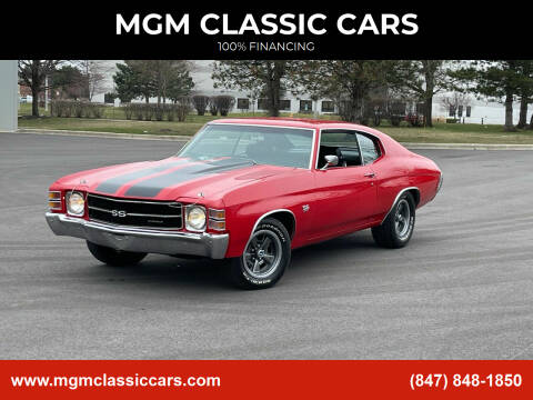 1971 Chevrolet Chevelle for sale at MGM CLASSIC CARS in Addison IL