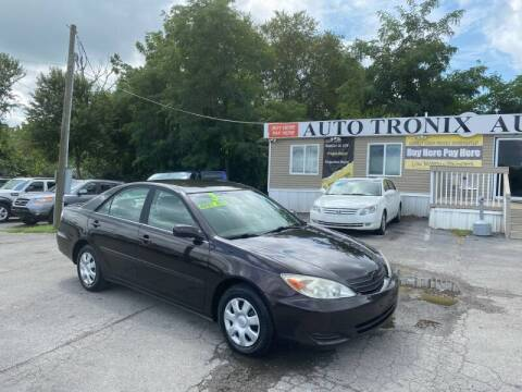 2003 Toyota Camry for sale at Auto Tronix in Lexington KY