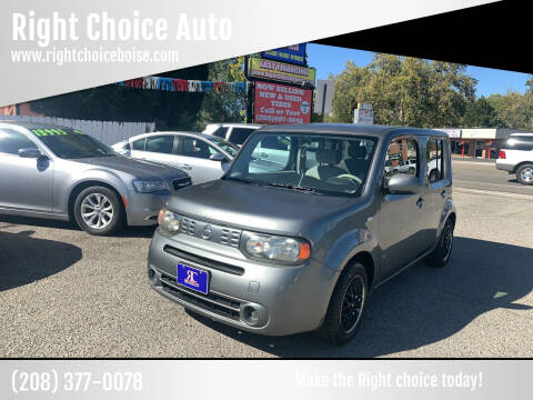 2011 Nissan cube for sale at Right Choice Auto in Boise ID