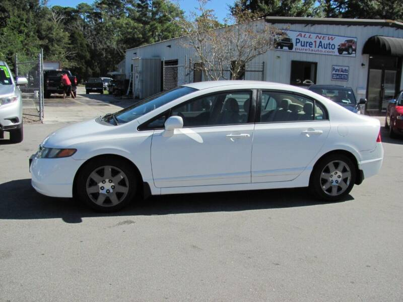2008 Honda Civic for sale at Pure 1 Auto in New Bern NC