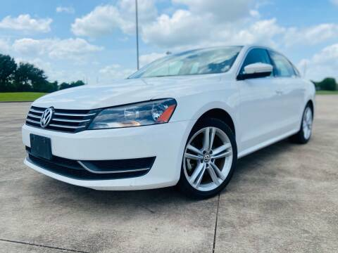 2014 Volkswagen Passat for sale at AUTO DIRECT Bellaire in Houston TX