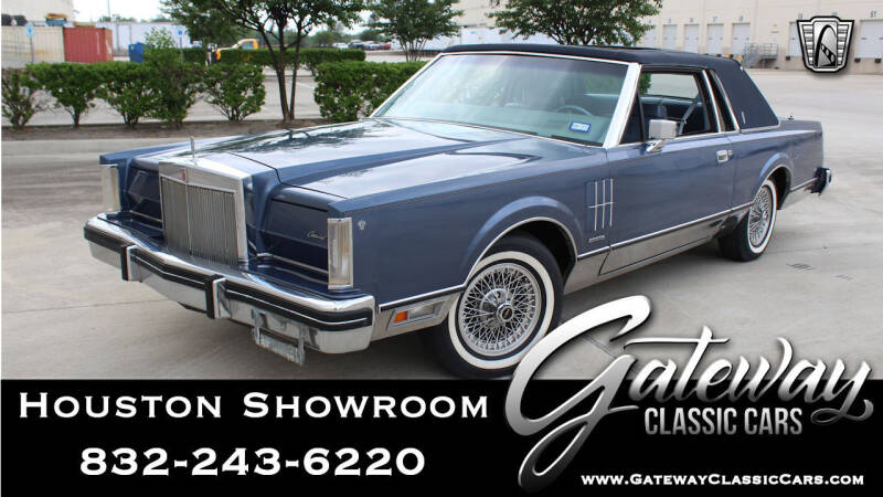 1983 Lincoln Continental for sale in Houston, TX