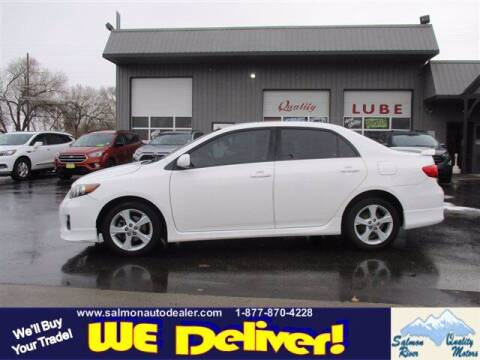 2012 Toyota Corolla for sale at QUALITY MOTORS in Salmon ID