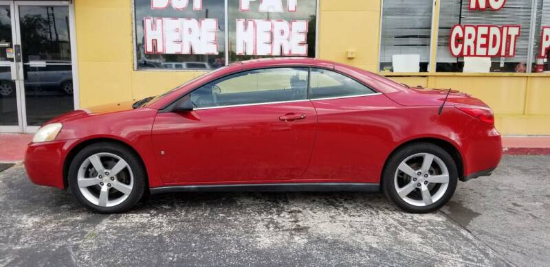 2007 Pontiac G6 for sale at BSS AUTO SALES INC in Eustis FL