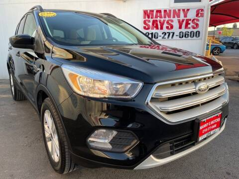 2018 Ford Escape for sale at Manny G Motors in San Antonio TX