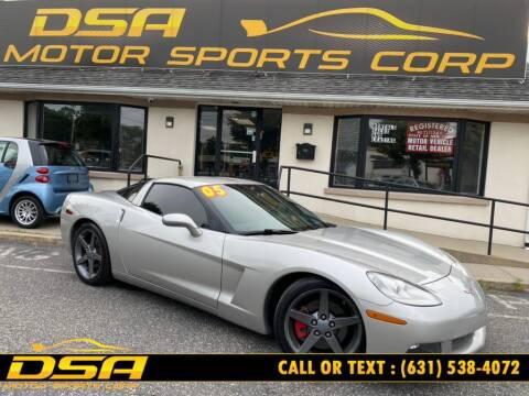 2005 Chevrolet Corvette for sale at DSA Motor Sports Corp in Commack NY