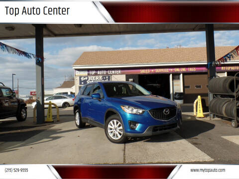 2013 Mazda CX-5 for sale at Top Auto Center in Quakertown PA