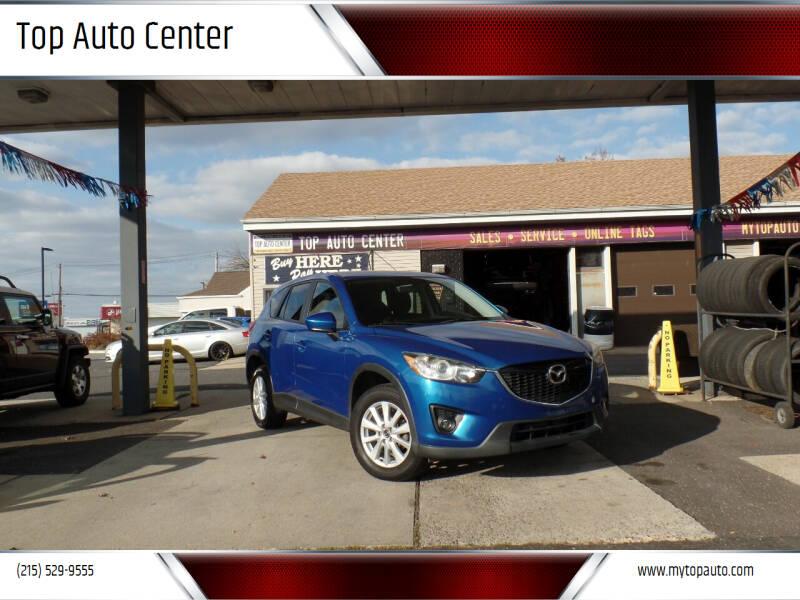 2013 Mazda CX-5 for sale at Top Auto Center in Quakertown PA