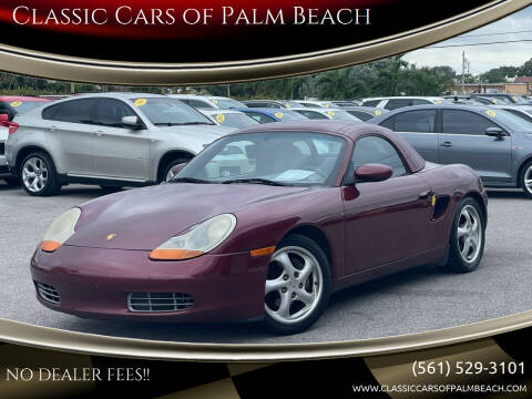 2000 Porsche Boxster for sale at Classic Cars of Palm Beach in Jupiter FL