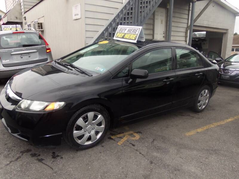 2011 Honda Civic for sale at Fulmer Auto Cycle Sales - Fulmer Auto Sales in Easton PA