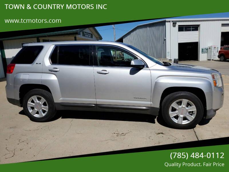 2010 GMC Terrain for sale at Town & Country Motors Inc. in Meriden KS