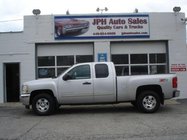 2012 Chevrolet Silverado 1500 for sale at JPH Auto Sales in Eastlake OH