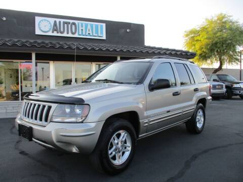 2004 Jeep Grand Cherokee for sale at Auto Hall in Chandler AZ