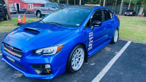 2015 Subaru WRX for sale at MBL Auto Woodford in Woodford VA