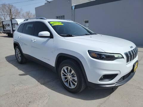2019 Jeep Cherokee for sale at CHURCHILL AUTO SALES in Fallon NV