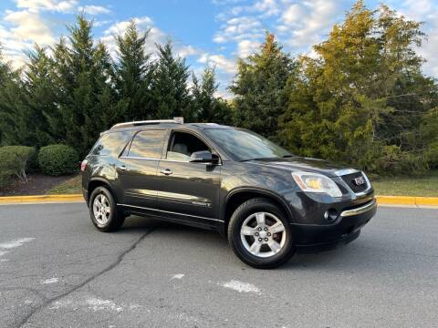 2007 GMC Acadia for sale at Aren Auto Group in Sterling VA