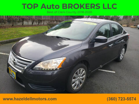 2014 Nissan Sentra for sale at TOP Auto BROKERS LLC in Vancouver WA