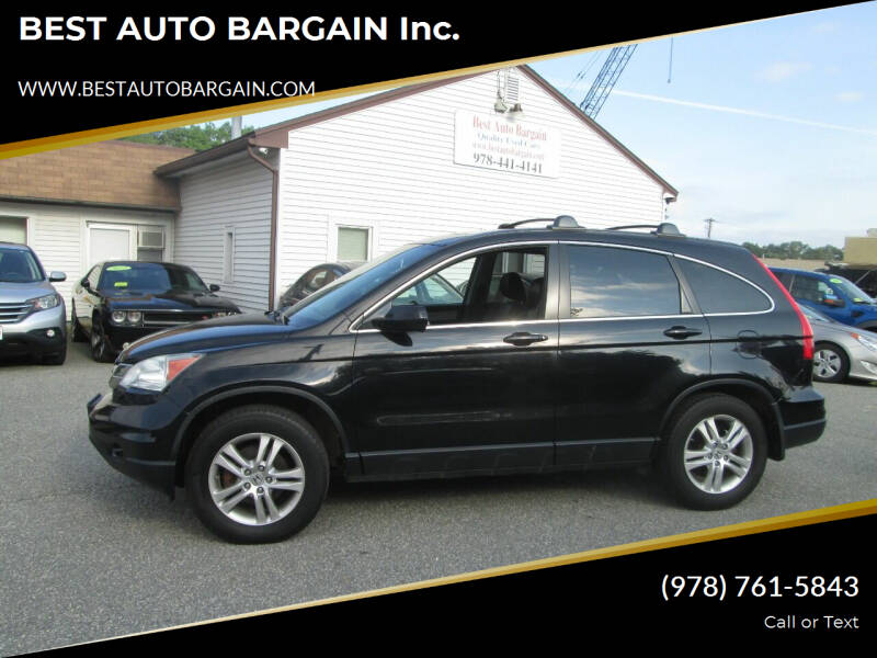 2011 Honda CR-V for sale at BEST AUTO BARGAIN inc. in Lowell MA