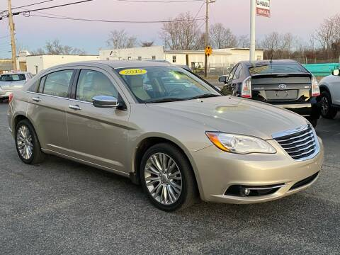 2013 Chrysler 200 for sale at MetroWest Auto Sales in Worcester MA