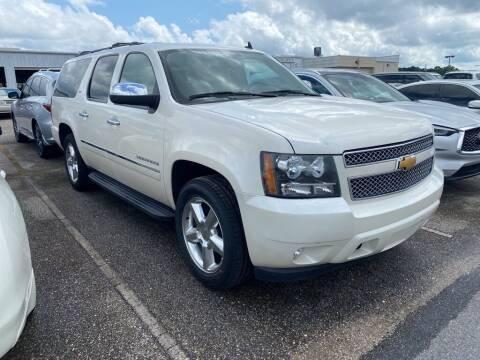 2014 Chevrolet Suburban for sale at JOE BULLARD USED CARS in Mobile AL