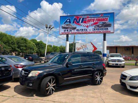 2012 Mercedes-Benz GLK for sale at ANF AUTO FINANCE in Houston TX
