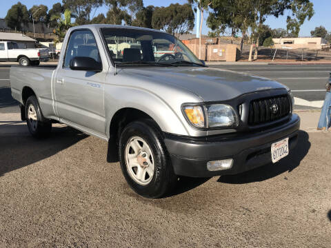 2002 Toyota Tacoma for sale at Beyer Enterprise in San Ysidro CA