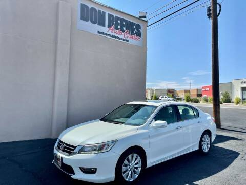 2013 Honda Accord for sale at Don Reeves Auto Center in Farmington NM
