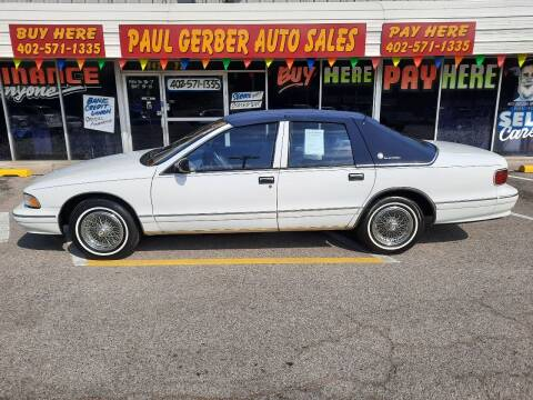 1995 Chevrolet Caprice for sale at Paul Gerber Auto Sales in Omaha NE