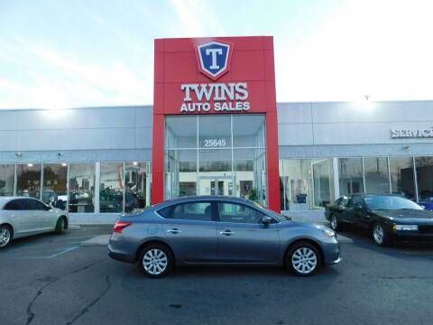 2017 Nissan Sentra for sale at Twins Auto Sales Inc Redford 1 in Redford MI