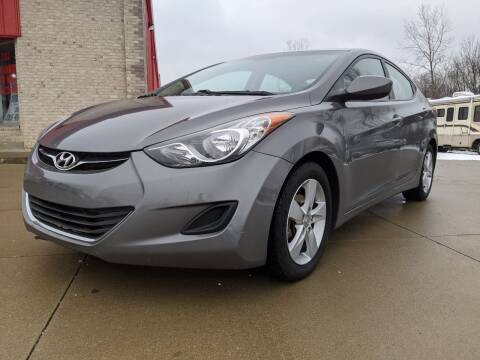 2013 Hyundai Elantra for sale at Nationwide Auto Works in Medina OH