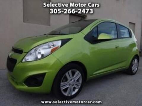 2013 Chevrolet Spark for sale at Selective Motor Cars in Miami FL