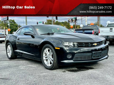 2015 Chevrolet Camaro for sale at Hilltop Car Sales in Knoxville TN