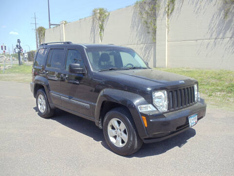 2012 Jeep Liberty for sale at Metro Motor Sales in Minneapolis MN