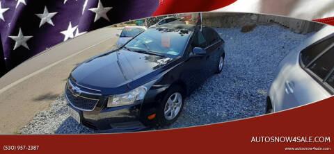 2012 Chevrolet Cruze for sale at AUCTION SERVICES OF CALIFORNIA in El Dorado CA