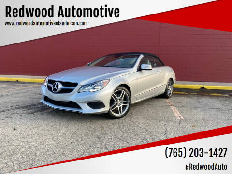 2014 Mercedes-Benz E-Class for sale at Redwood Automotive in Anderson IN