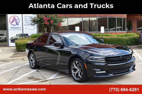 2015 Dodge Charger for sale at Atlanta Cars and Trucks in Kennesaw GA