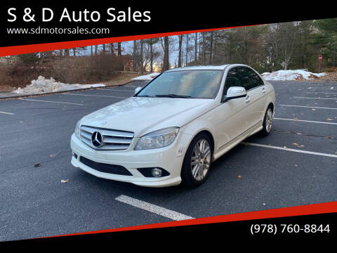 2009 Mercedes-Benz C-Class for sale at S & D Auto Sales in Maynard MA
