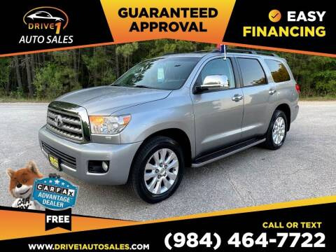 2008 Toyota Sequoia for sale at Drive 1 Auto Sales in Wake Forest NC