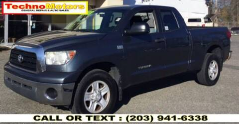 2008 Toyota Tundra for sale at Techno Motors in Danbury CT