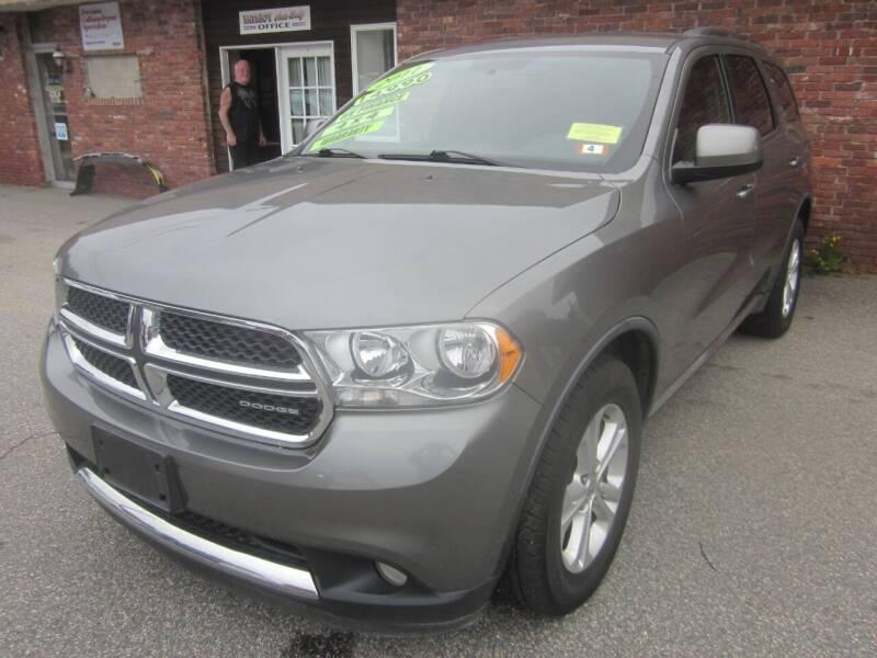 2011 Dodge Durango for sale at Tewksbury Used Cars in Tewksbury MA