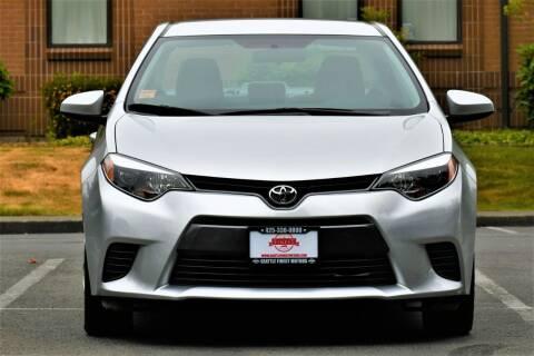 2016 Toyota Corolla for sale at SEATTLE FINEST MOTORS in Lynnwood WA