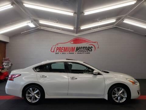 2015 Nissan Altima for sale at Premium Motors in Villa Park IL