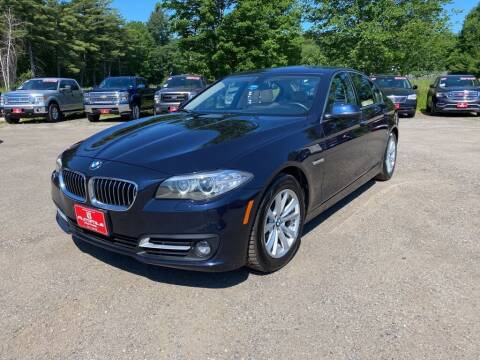 2016 BMW 5 Series for sale at AutoMile Motors in Saco ME
