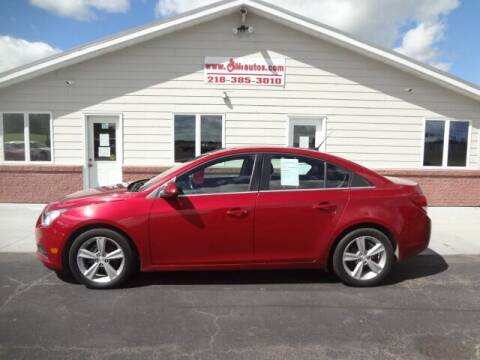 2014 Chevrolet Cruze for sale at GIBB'S 10 SALES LLC in New York Mills MN