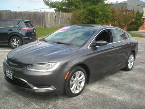 2015 Chrysler 200 for sale at 611 CAR CONNECTION in Hatboro PA