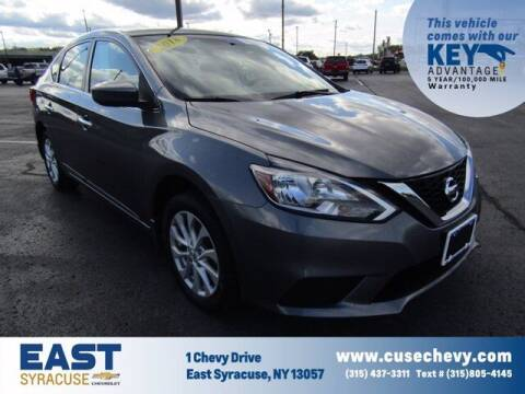 2018 Nissan Sentra for sale at East Syracuse Performance Sales & Service in Syracuse NY