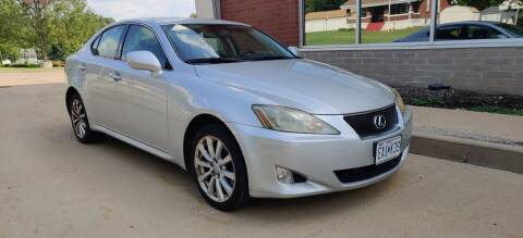 2006 Lexus IS 250 for sale at Auto Wholesalers in Saint Louis MO