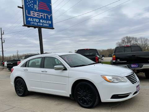 2013 Chrysler 200 for sale at Liberty Auto Sales in Merrill IA